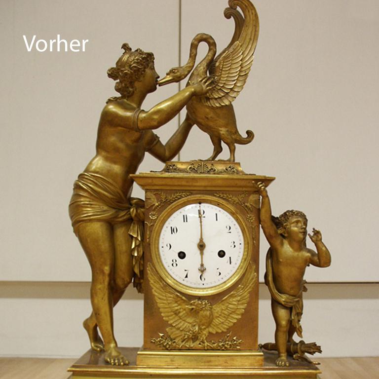 Uhren-Zorn-Wuerzburg-Restauration-Tischuhr-vergoldet-Vorher